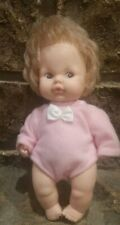 "Vintage 50s 60s Eegee doll 6.5"" pink outfit"