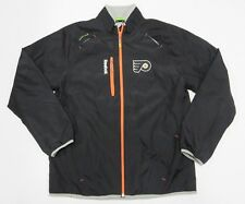 NEW WITHOUT TAGS NHL Philadelphia Flyers REEBOK Zip Up Jacket Adult Men's Size M