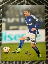 Schalke Pierre Emile Holberg Autographed Signed 11x14 Photo Coa #2