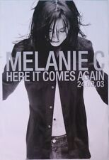 MELANIE C Here It Comes Again Official UK Record Company POSTER