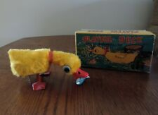 Vintage Wind-up Playful Duck with Box