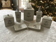 Nina Campbell Tissue Holder, Soap Dispensers, Soap Dishes, Lidded Boxes, New