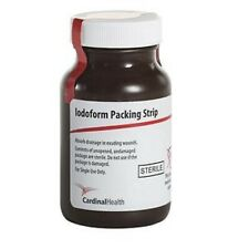 "IND Car Sterile Iodoform Packing Strip 1/2"" x 5 yds. - REPLACES ZG50I-12ea"