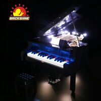 Brick Shine-LED Light Kit for Lego Grand Piano 21323 (100% rating Seller)