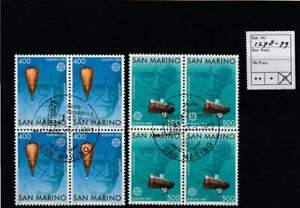 Europa Cept gestempeld block 1983 used - San Marino 1278-1279 (214)