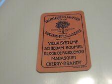 1 losse speelkaart / 1 single playing card / 1 carte Distil. De L'Oranger