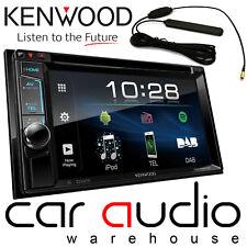 "KENWOOD DDX-4018DAB 6.2"" DOPPIO DIN DVD BLUETOOTH IPHONE DAB Antenna Autoradio &"