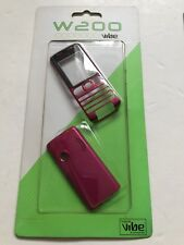 Sony Ericsson W200 Full Fascia Housing Cover Front Back Case Pink