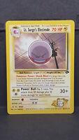 Lt. Surge's Electrode 52 Gym Challenge Uncommon Pokemon Card Near Mint