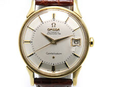 Omega Constellation Pie Pan Dial w/ Leather