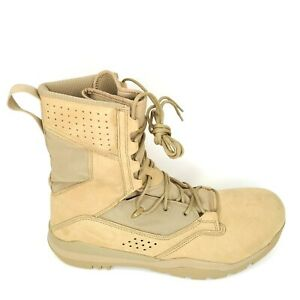 """Nike Men's SFB Field 2 8"""" Military Tall Combat Tactical Boots Desert Size 14"""