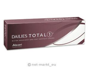 Dailies Total 1-Alcon-Wassergradiente Tageslinsen 1x30 Stück AUSVERKAUF OHNE OVP