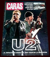 U2 Bono Live in Argentina 360º Tour - Caras Special magazine