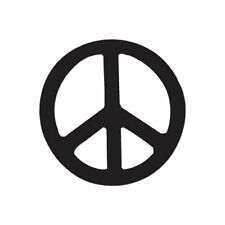 Peace Sign - Vinyl Decal Sticker - Multiple Color & Sizes - ebn941