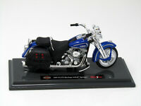 Modell Motorrad  1:18 HarIey Davidson 1999 FLSTS Heritage Softail Springer Blau