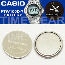 Ctl1616F Rechargeable Battery By Panasonic Casio Wave Ceptor Ftw100D-7 Solar