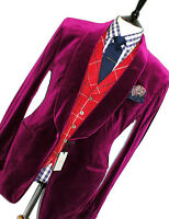 BNWT MENS TOM FORD SMOKING VELVET SHAWL COLLAR EVENING SUIT JACKET BLAZER 44R
