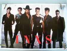 RARE INXS 1988 VINTAGE ORIGINAL MUSIC POSTER