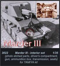 CMK 1/35 Marder III Interior Detail Set (for Tamiya kit) 3022