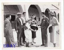 Jack Lord Dorothy Malone Robert Taylor VINTAGE Photo Tip On A Dead Jockey