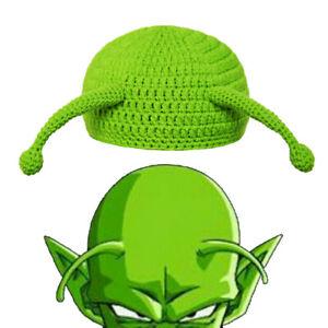 Dragon Ball Piccolo Cosplay Hats Cotton Knitting Caps Adult Children Headwear