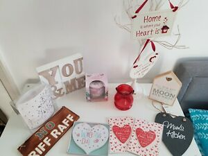 joblot home decor wooden signs love family