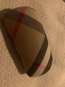 Burberry sunglasses or glasses case Used Good Condition