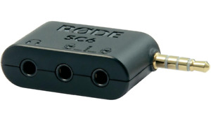 Rode SC6 Dual TRRS Input And Headphone Output For Smartphone