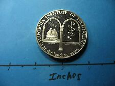 2.1 OZ CALIFORNIA INSTITUTE TECHNOLOGY CALTECH PALOMAR TELESCOPE 999 SILVER COIN