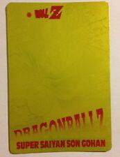 Dragon Ball Z PP Card Gold 1183