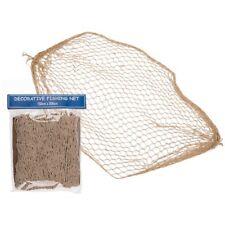 Deko Fischernetz Fischnetz 150 x 200 cm Netz Maritim Strand Urlaub Meer Reuse
