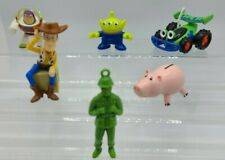 Disney Pixar Toy Story action figures (6) Buzz, Woody, Sarge, Hamm, RC, Alien