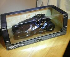 HOT WHEELS BATMAN BEGINS BATMOBILE TUMBLER 1/18 2004 FIRST RELEASE BRAND NEW