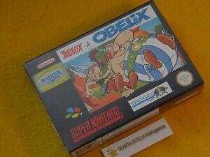 1 ASTERIX e OBELIX Super Nintendo PAL version NUOVO NEW NUEVO NEUF NEU SNES &