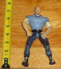 1999 WWF WWE Jakks Stone Cold Steve Austin Wrestling Figure Gray Shirt