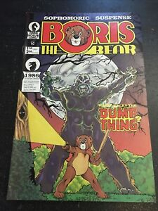 Boris The Bear#5 Awesome Condition 8.0(1986) Vs Dump Thing, Black Nag Award