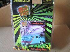 Planet Toys  Street Whipz 1976 chevy Custom Van w/ Rubber Tires 70s van