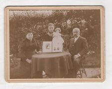 PHOTO ANCIENNE Famille Album de photos de famille Poupée 1895 Mise en scène