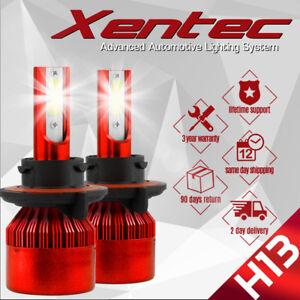 Cree H13 9008 488W LED Headlight Conversion Kit 6500K 48800LM Bulb HI-LO Beam