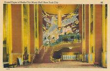 NEW YORK CITY – Radio City Music Hall Grand Foyer