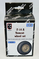 Halberd Models wheel set for F-14A Tomcat 1/32 scale for Tamiya & Trumpeter