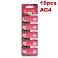 Whoesale 10pcs 1.55V SR626SW 377 V377 177 L626 AG4 SR66 Button Cell Coin Battery