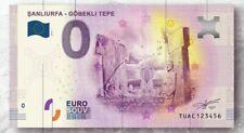 0 Euro Souvenir - DİFFERENT SERİAL - Göbekli Tepe / TUAC - Gobekli tepe