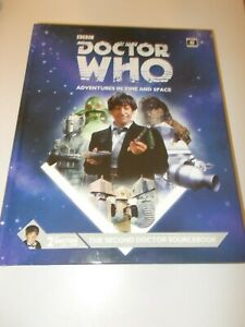 The Second Doctor Sourcebook  Dr Who AITAS RPG - Supplement