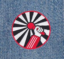Cool Vintage Style Hip Hop Rap DJ Microphone Shirt Patch Badge 8cm