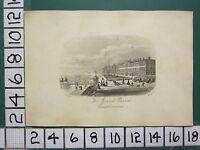 C1860 Piccolo Antico Eastbourne Stampa ~ The Grand Sfilata