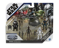 Star Wars Mission Fleet Defend the Child Mandalorian Action Figure Set Cara Dune