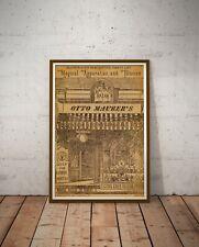 "1884 Magic Shop Catalogue Poster! (up to 24"" x 36"") - Magician - Tricks - Decor"