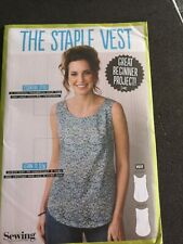 The Staple Vest Simply Sewing Pattern Uncut
