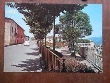 Vecchia foto cartolina d epoca di Tramutola Corso Vittorio Emanuele strada case